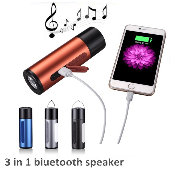 Trending Hot Products Speakers Handsfree 5200Mah Powerbank Hindi Mp3 Player Song Download Mini Bluetooth Speaker