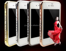 Diamond bumper case for iphone 5 made in china