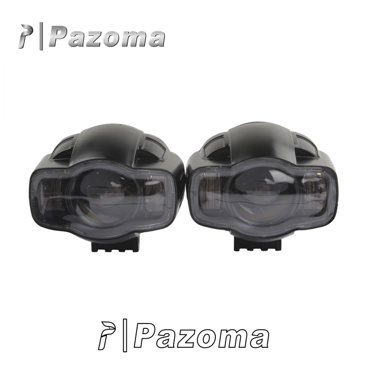 Chinese Factory Hot Sale Pazoma Motorcycle Die-cast Aluminum Housing Spotlight