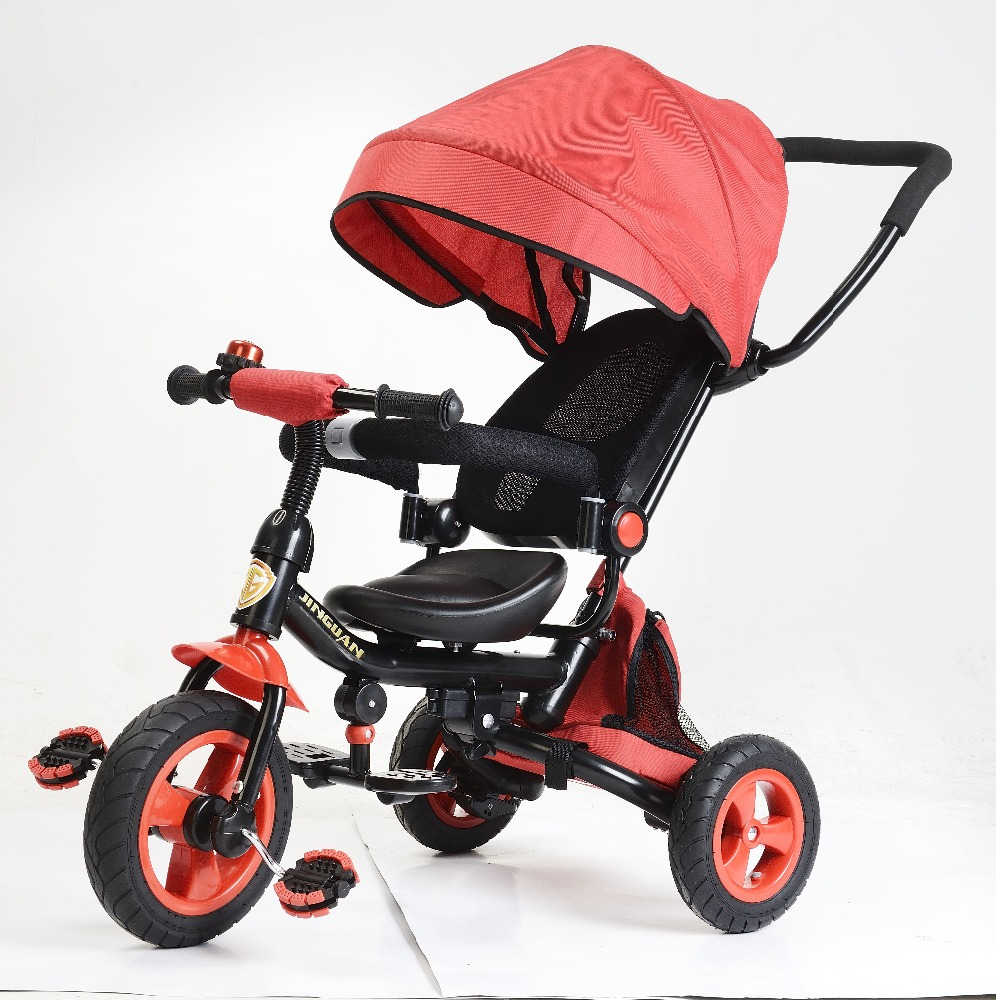 new designs air tyre children tricycle/luxury baby trike /high quality best standard cheap price baby tricycle