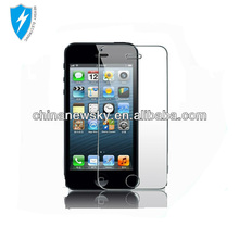Hot sale with high quality tempered glass screen protector for iphone 5