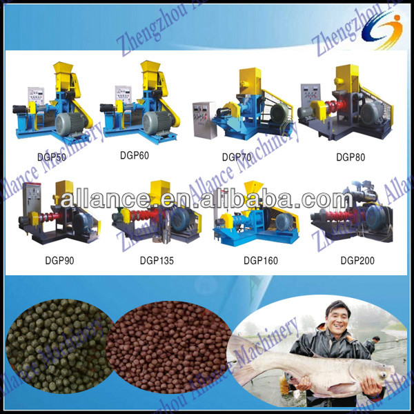 Formulation available fish feed processing machine floating fish feed processing