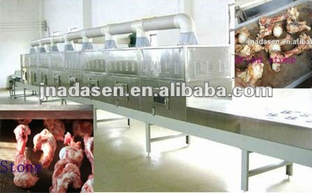 Pork bone dryer/cooker/oil extractor