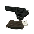customized rubber usb revolver gun gift usb 4 gb drive hot products for 2017