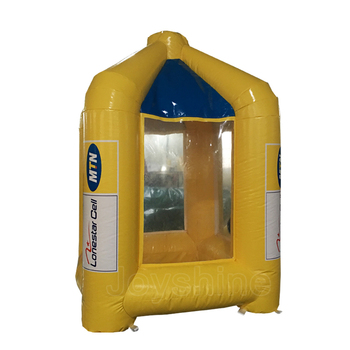 Advertising Used Inflat Cash Box Machine Money Cube Grabber Cheap Yellow Inflatable Money Grab Booth For Sale