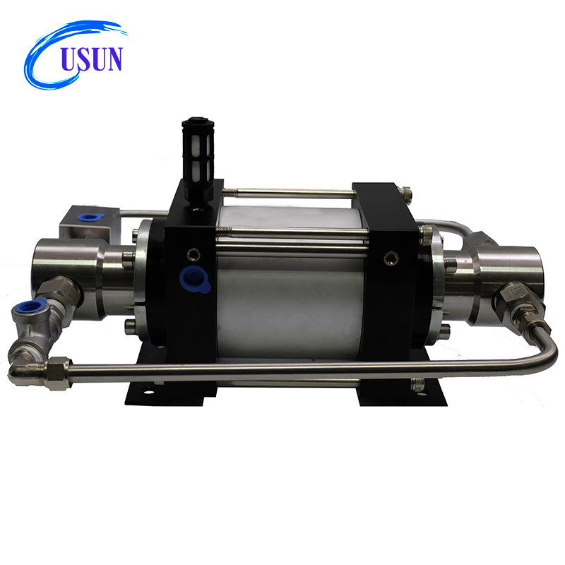 USUN Model: XT100 <strong>100</strong>:1 ratio 10000 PSI double acting pneumatic driven hydraulic pressure test pump for hose