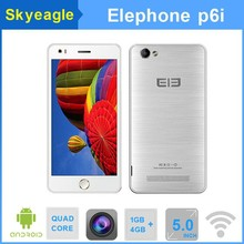 "5.0"" Elephone P6i Quad Core Android 4.4 Smartphone Dual SIM 13MP mobile phone"