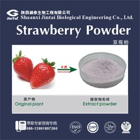Top quality water soluble dried strawberry Juice extract powder