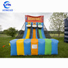 Inflatable basketball shootout with 3 lanes, inflatable outdoor sport themed game product for sale