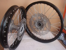 supermoto wheels , alloy wheels for motorcycles ,pit bike cnc wheel hubs