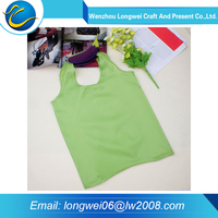 New collection promotion folded polyester shopping bag