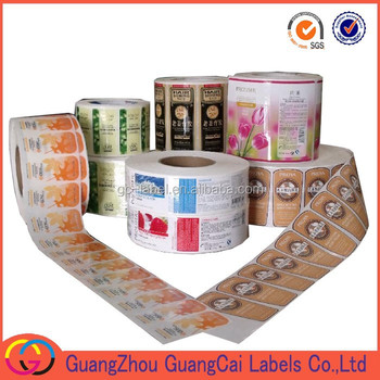 whole sale food jam bottle private self adhesive trademark