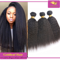 2015 new hair product 7a malaysian kinky straight human hair extension wholesale