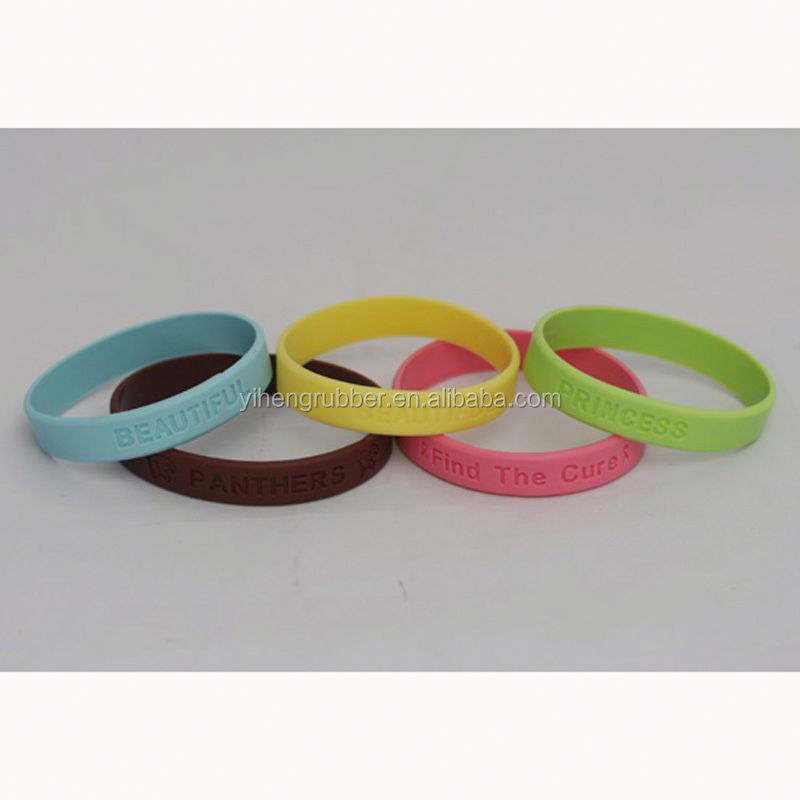 Top grade syria silicone wristbands
