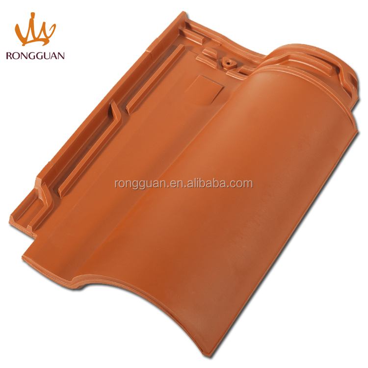 red color clay interlock roof tile water proof roof tile (R1-W85)