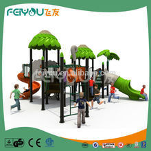 Jungle Series Favorable Price LLDPE Child Outdoor Playset
