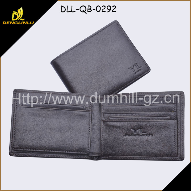 Leather funky wallet fashion leather man wallet