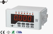 high quality LED display Digital Active power meter Single-phase electrical monitoring Power panel meter 48*96mm