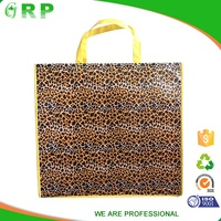 Promotion pp non woven supermarket sale durable custom shopping bags