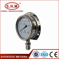 Liquid filled stainless steel dial test gauge