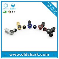 ABS plastic Material mobile phone lens,high definition 3 in 1 camera lens