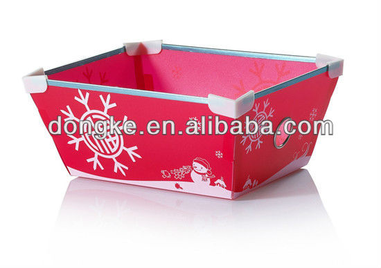 Good Quality custom take away container plastic food box plastic container basket box crate soft shell crab farm