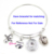 Hot Interchangeable Cabochon Glass Sport I love Softball Buttons DIY 18mm Button for Snap Jewelry Bracelet Necklace Earring