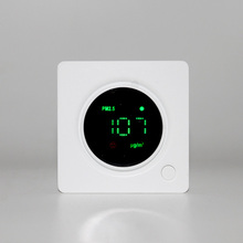 high precession laser scateering pm2.5 indoor air quality monitor