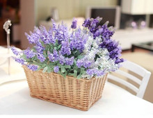 Good -looking Wicker flower basket for home decoration