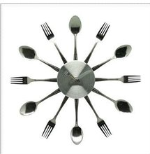 KNIFE AND FORK CLOCK
