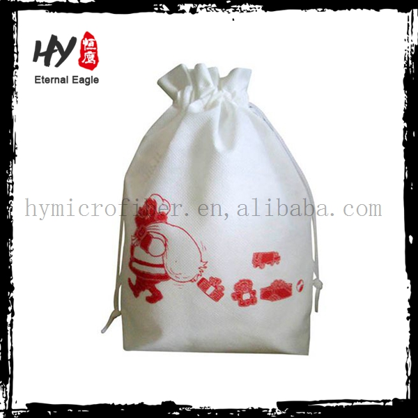 Professional reusable non woven bag, fabric christmas gift bag, snoopy shopping bag with CE certificate