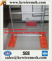 Factory!!!!! KangChen Australia Standard AS 4687-2007 Galvanized construction site temporary fencing