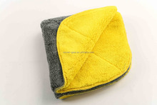 high quality Microfiber towel 800GSM with 40x40cm for car detailing