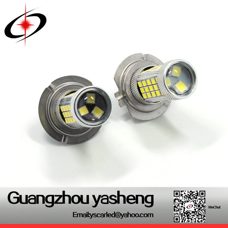 H7 50W LED Car Light 2835 63 SMD LED Cars Fog Light LED Lamp DC 12V in Warm White/Cool White Energy-saving Lamp