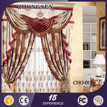 High Quality Decorative window curtain model