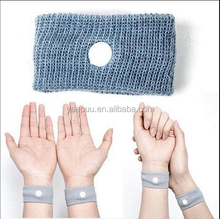 Pair of Acupressure Anti-nausea Motion Sickness Relief Wristbands