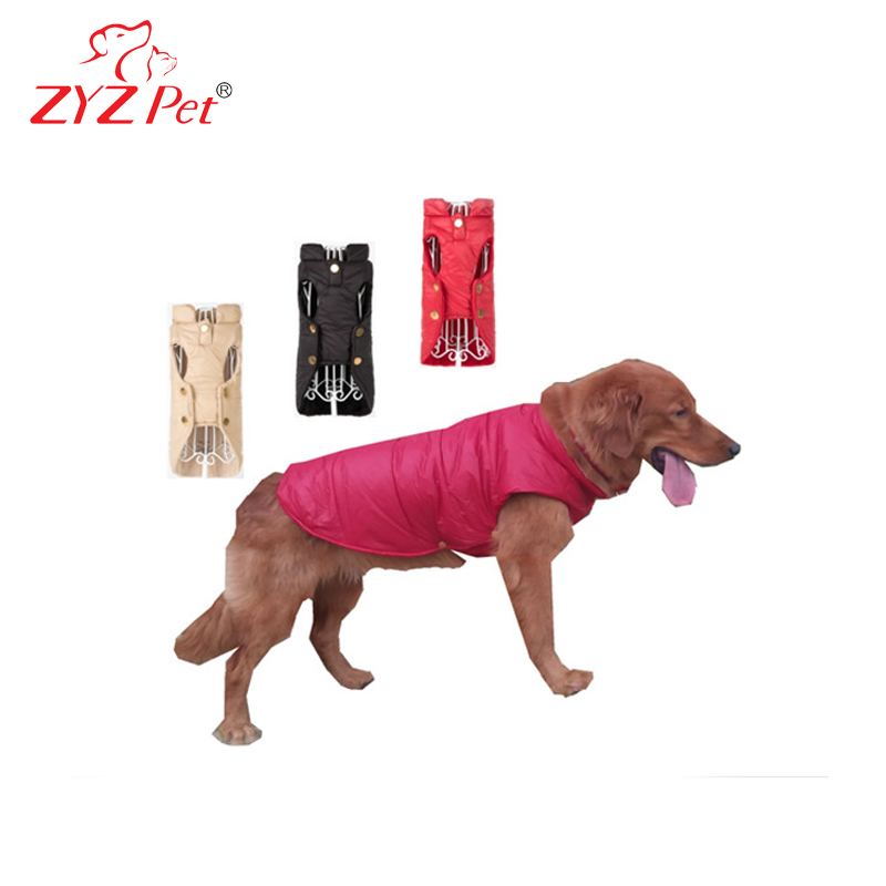 Waterproof large dog clothes winter pet clothes designer dog coats