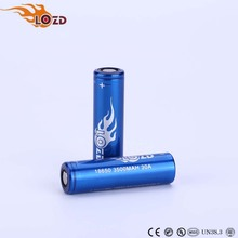 HOT OEM Factory Wholesale price Durable High Capacity 3500mah Rechargeable 18650 Battery for Torch LED