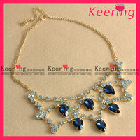 Fancy necklaces jewelry necklace decoration for wedding WNK-206