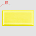 yellow color ceram wall tile glazed ceramic tiles for office