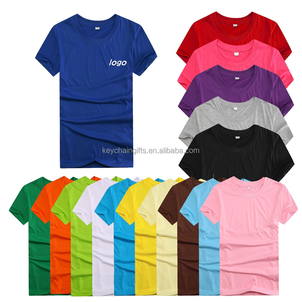 Promotional men custom t shirt printing wholesale china for T shirt printing in bulk
