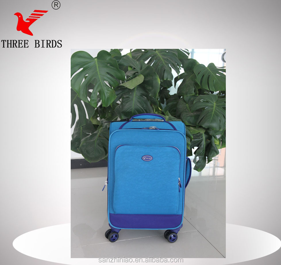[Three Birds] school bags 2014 with removable wheels for bags,motorcycle side bag,scooters bags