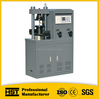 LCD display cement brick compressive testing machine 100KN