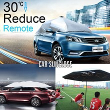 SUNCLOSE two car garage tent inflatable car cover folding garage car cover