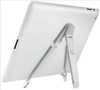 Premium Metal Alloy Foldable Desktop Stand Holder Cradle for iPad for Samsung Tab for Kindle Fire