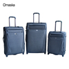 2017 fashion design luggage with retractable wheels wholesale price travel zone luggage manufacture supplier OEM urban luggage