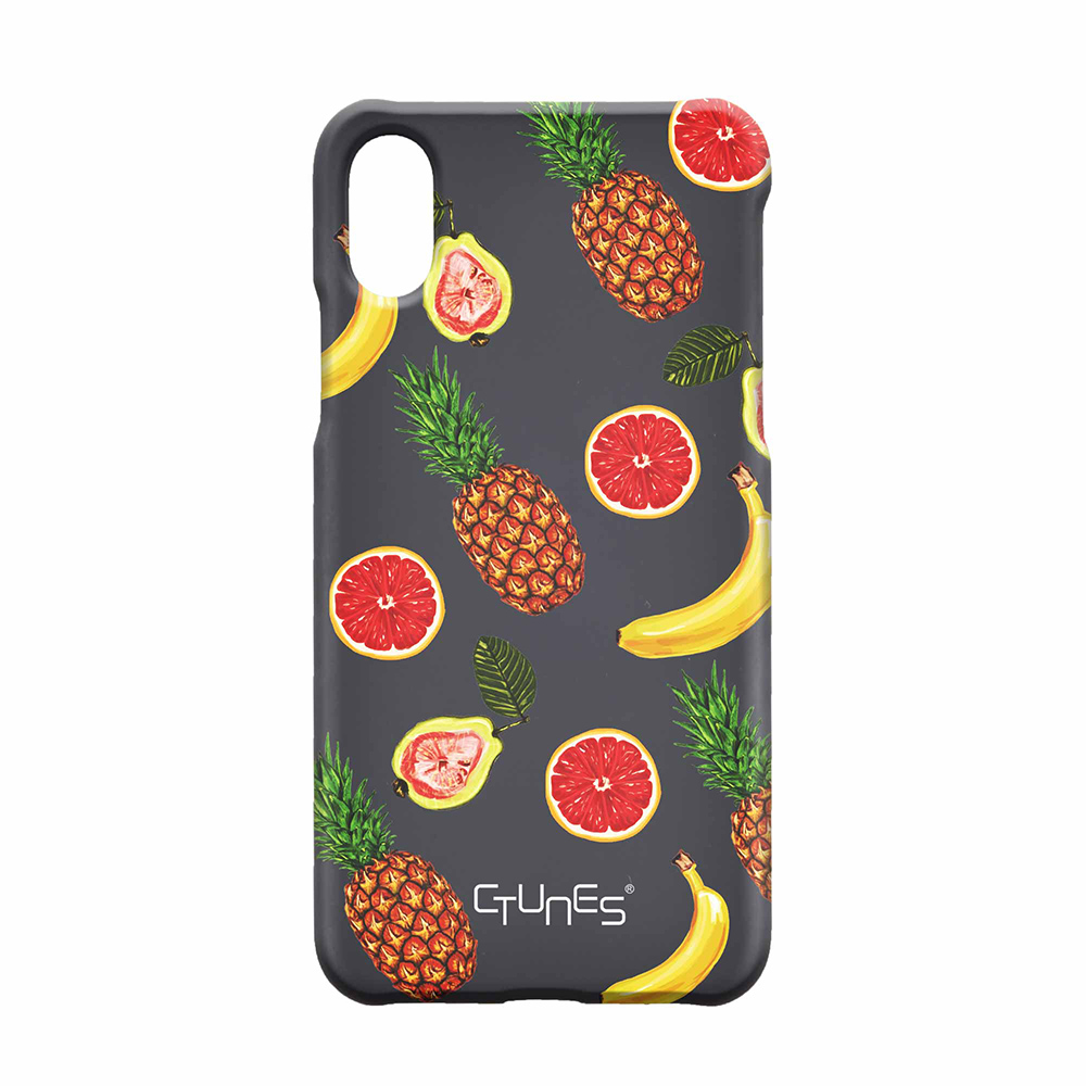 CTUNES Cute Pizza Slice Lovely Food Pattern Slim Hard Plastic Back Mobile Phone Case For iPhone 8