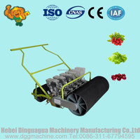Hand push vegetable seed planters/greenhouse agriculture seeder