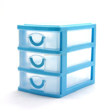 3 drawer colorful desktop storage organizer