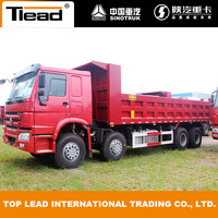 SINOTRUK HOWO 8x4 Tipper Trucks for Sale, 12 Wheel Tipper, 30Ton Dump Truck